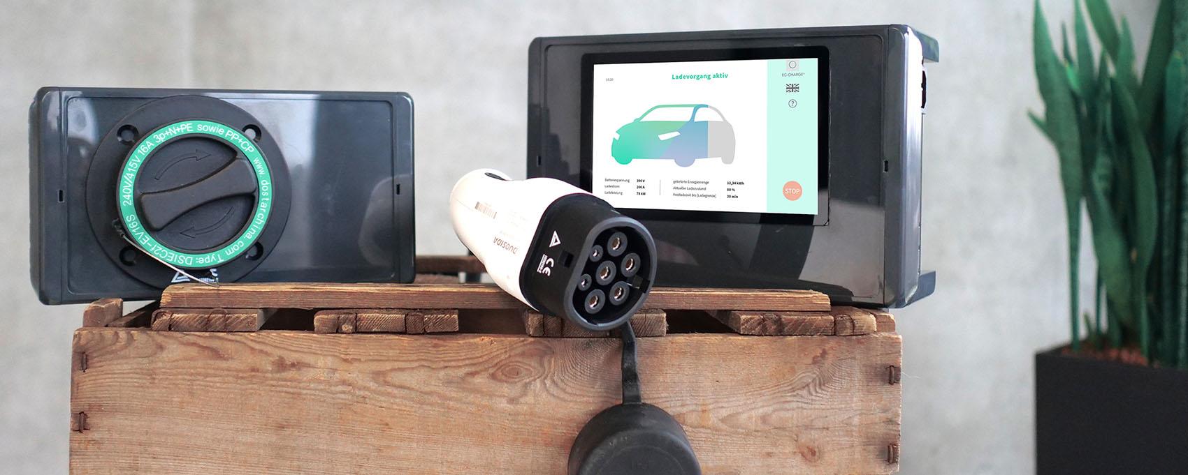 Eclipseina GmbH Produkt EC-CHARGE© - Steuerungsmodul für Ladesäulen