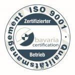 Die Eclipseina GmbH ist zertifiziert nach DIN EN ISO 9001:2015.