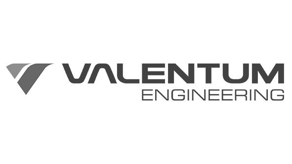 Logo Valentum Engineering, Kunde Von Eclipseina