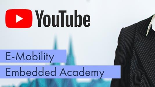 Annette Kempf im Interview auf Youtube mit Charbax über E-Mobility und die Embedded Academy.